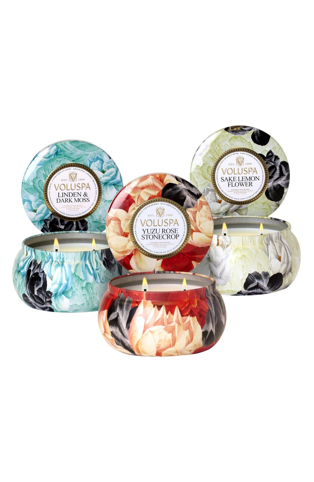 Alternate Image 1 Selected - Voluspa 'Maison Jardin' Two-Wick Candle Trio ($48 Value)