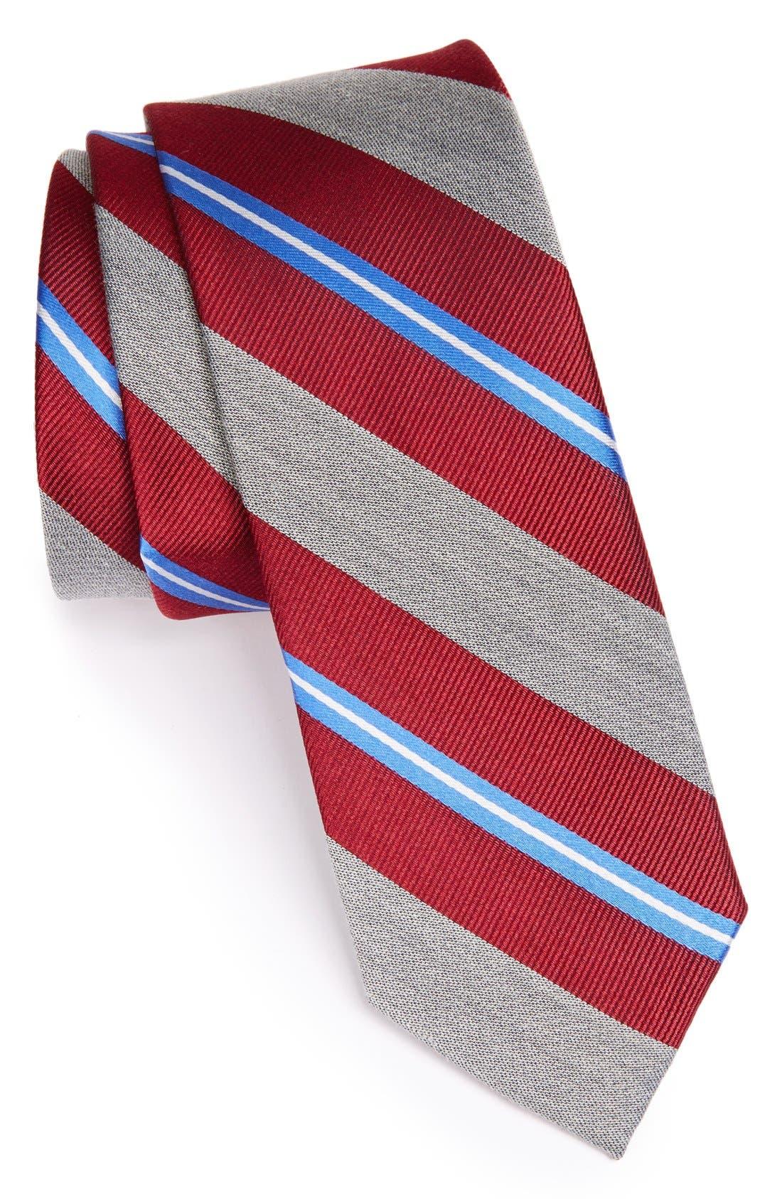Alternate Image 1 Selected - 1901 'Brady' Woven Silk Blend Tie