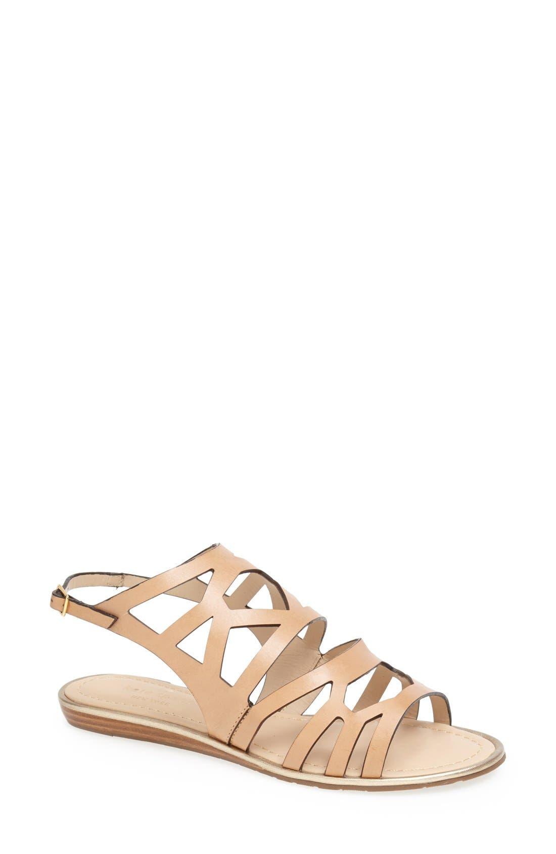 Alternate Image 1 Selected - kate spade new york 'aster' flat sandal