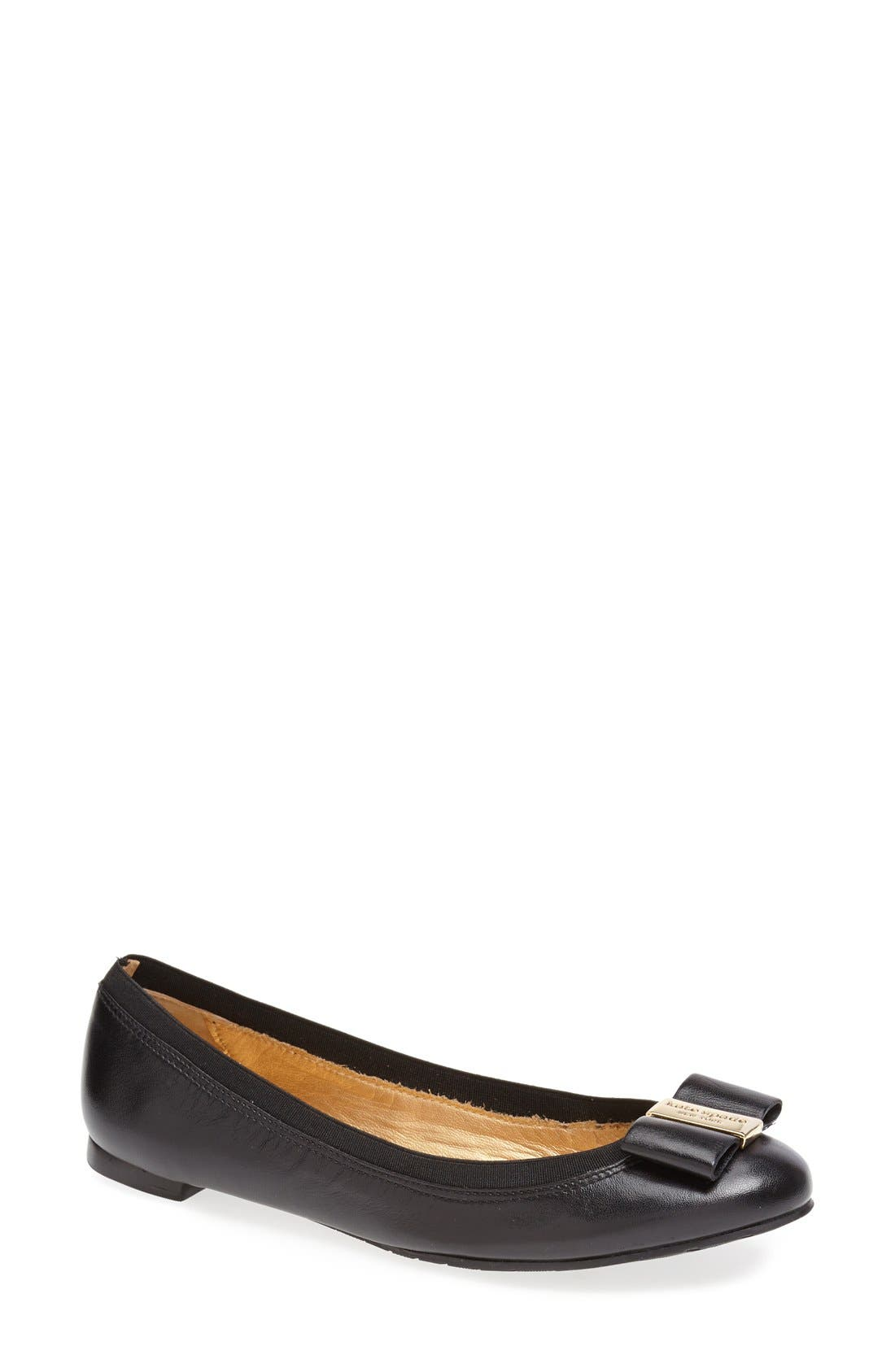 Alternate Image 1 Selected - kate spade new york 'tock' flat