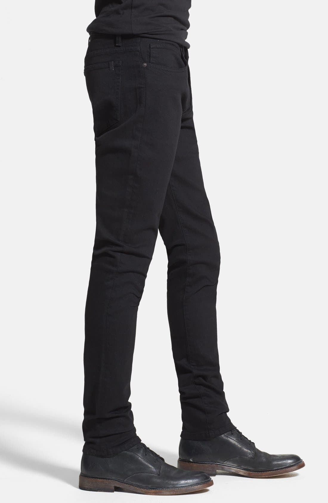 Alternate Image 3  - Joe's 'Slim' Skinny Fit Jeans (Jet Black)