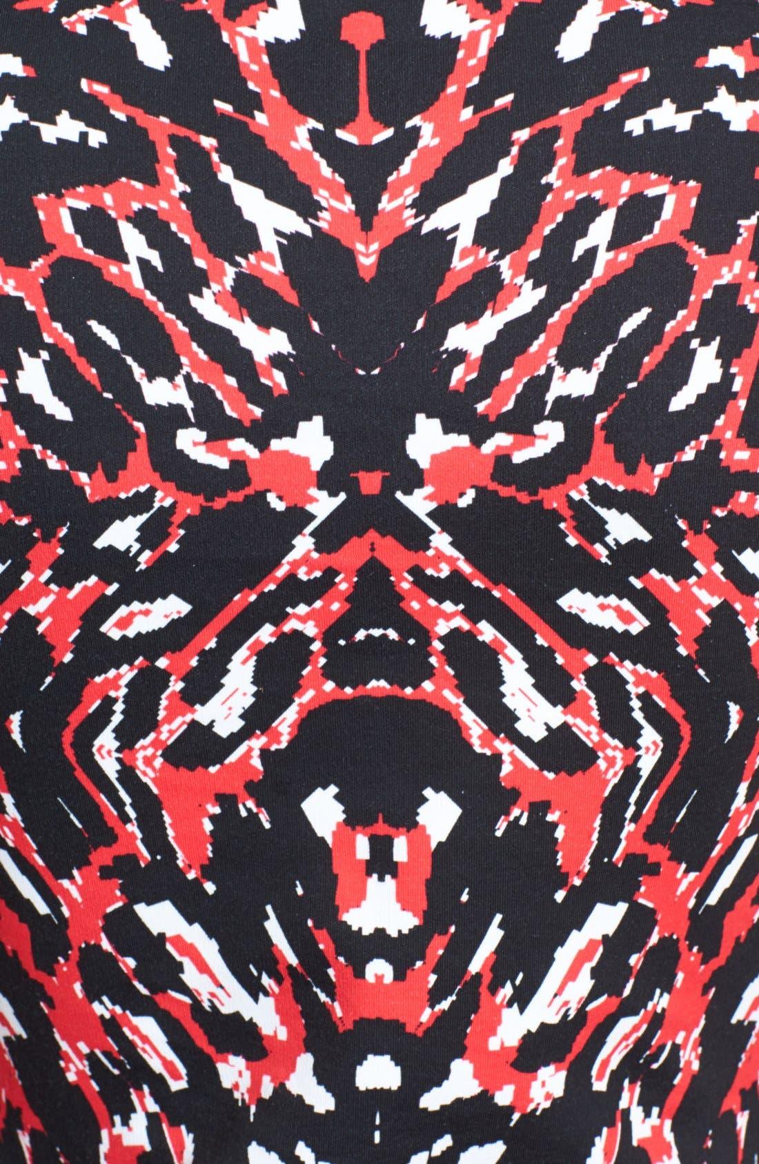 Alternate Image 3  - McQ by Alexander McQueen Animal Print Body-Con Dress