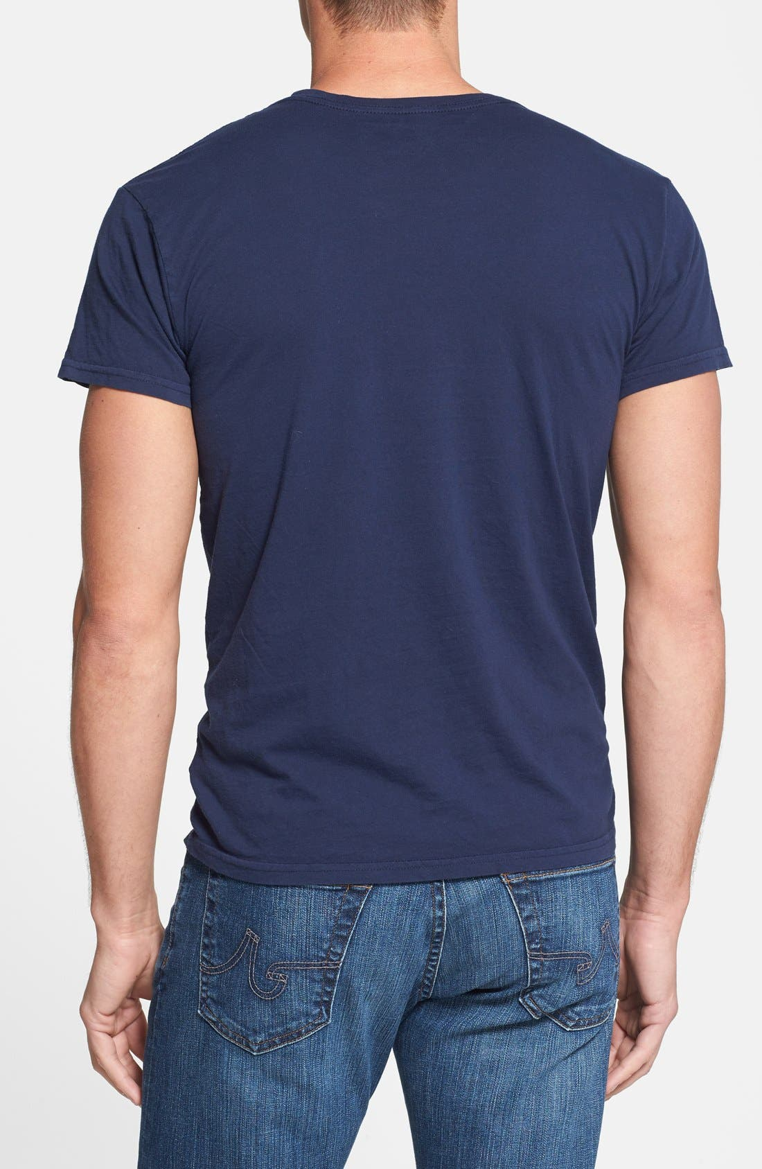 Alternate Image 2  - Retro Brand 'USA Soccer' Slim Fit T-Shirt