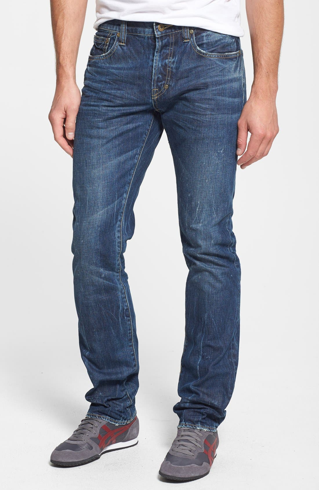 Alternate Image 1 Selected - PRPS 'Demon' Straight Leg Jeans (Enzyme)