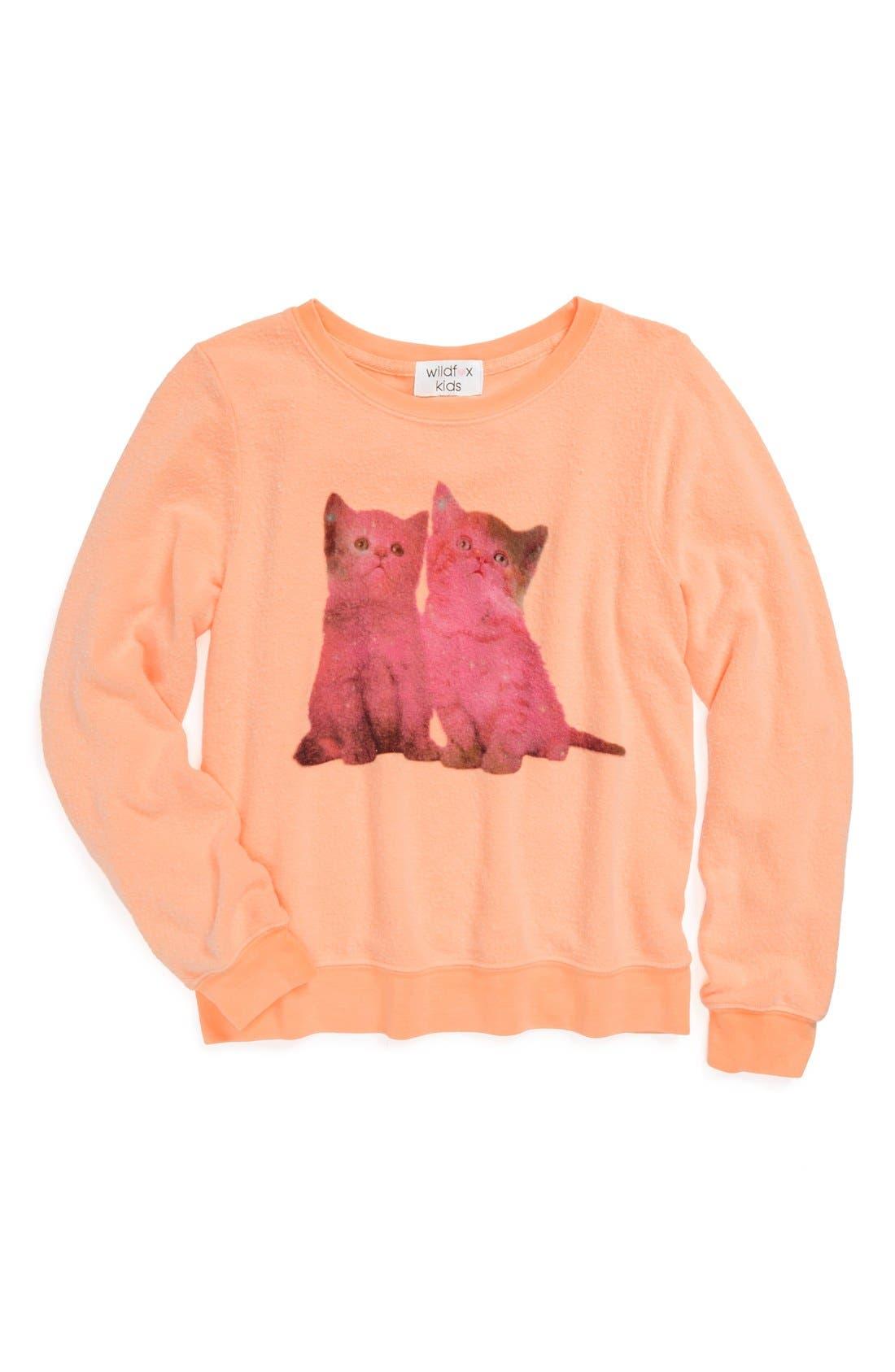 Main Image - Wildfox 'Stargazers' Lightweight Sweatshirt