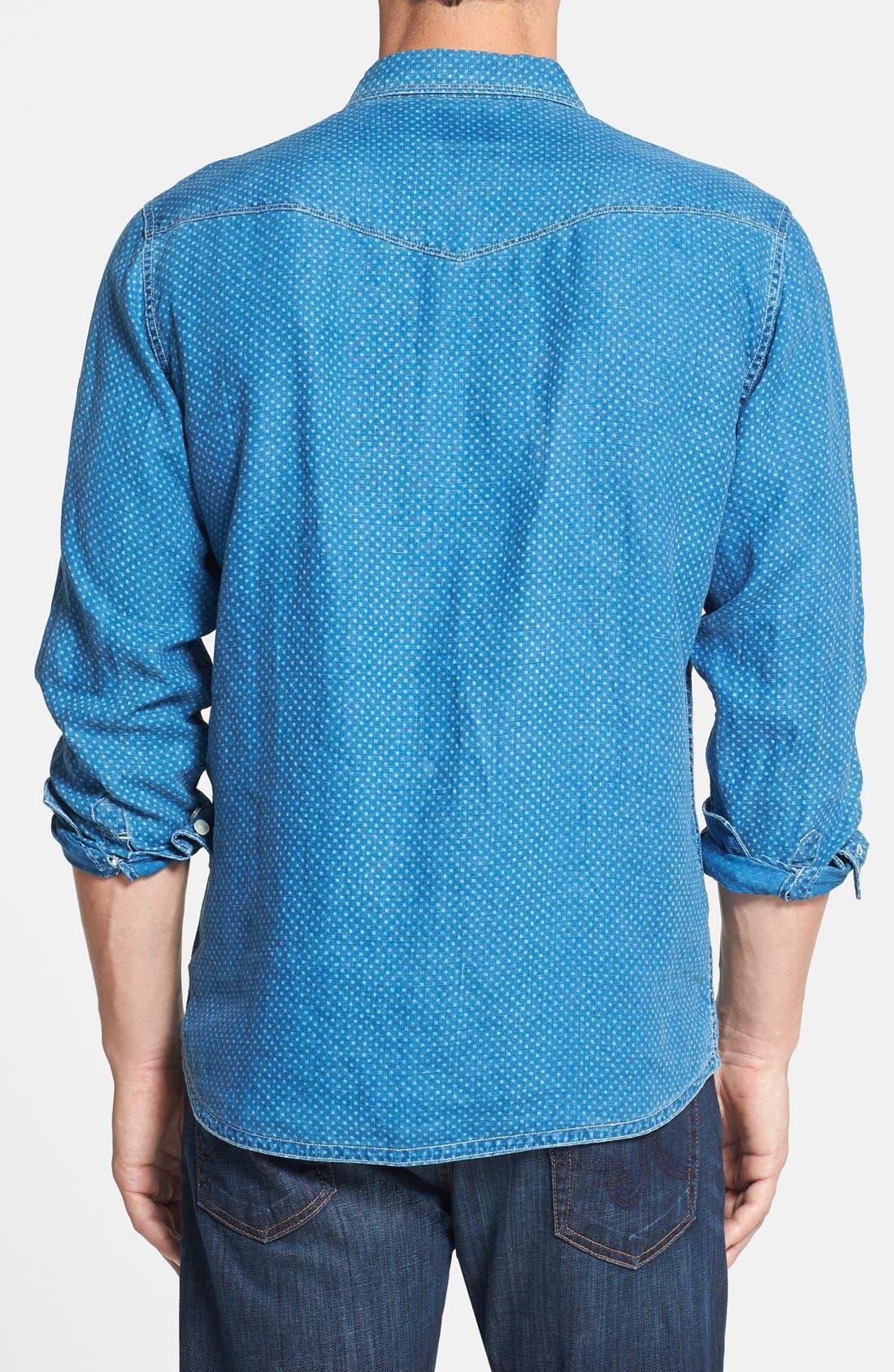 Alternate Image 2  - Tommy Bahama Denim 'Indigo Dot Com' Island Modern Fit Sport Shirt