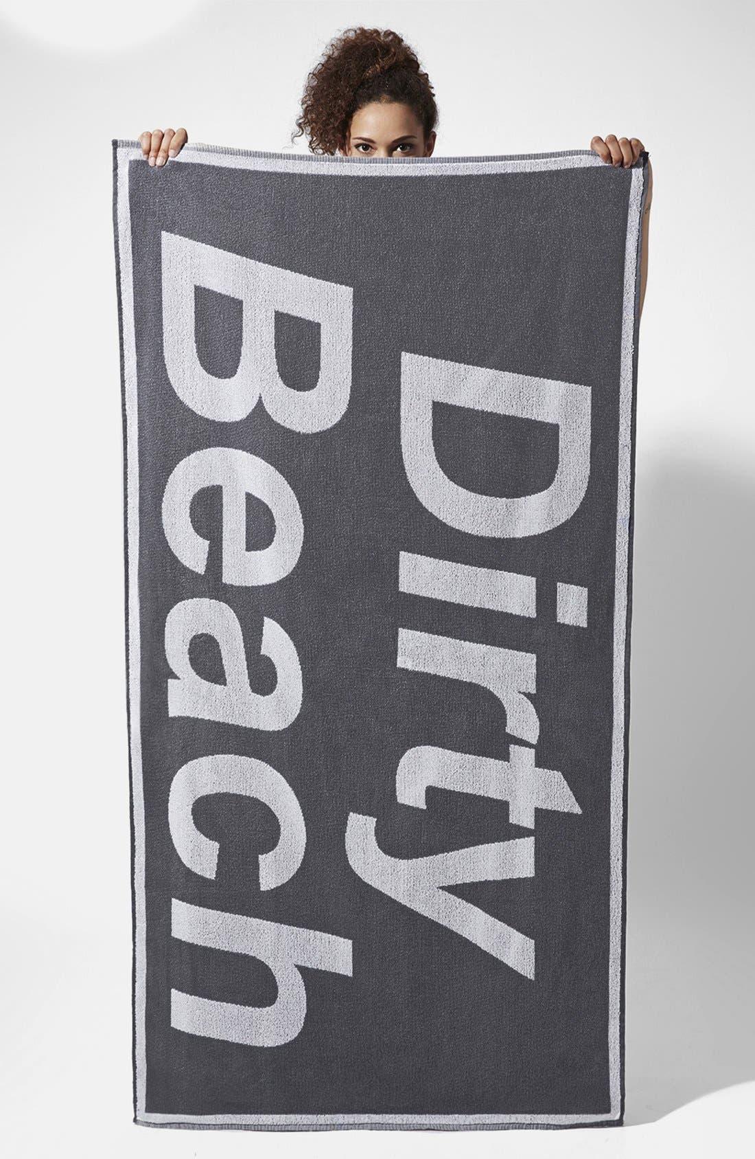 Alternate Image 1 Selected - Ashish x Topshop 'Dirty Beach' Towel