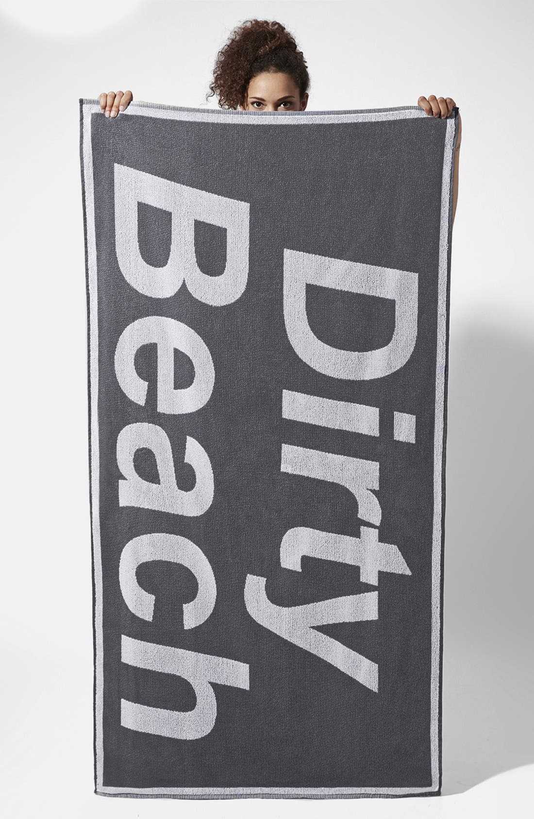 Main Image - Ashish x Topshop 'Dirty Beach' Towel