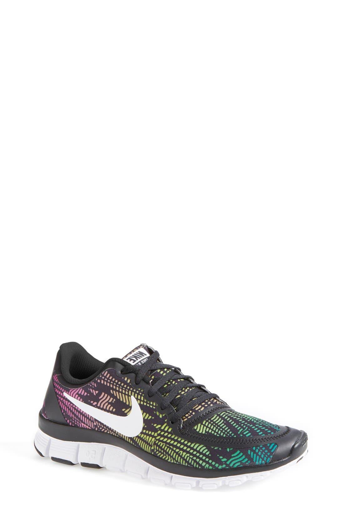 Alternate Image 1 Selected - Nike 'Free 5.0 V4' Running Shoe (Women)
