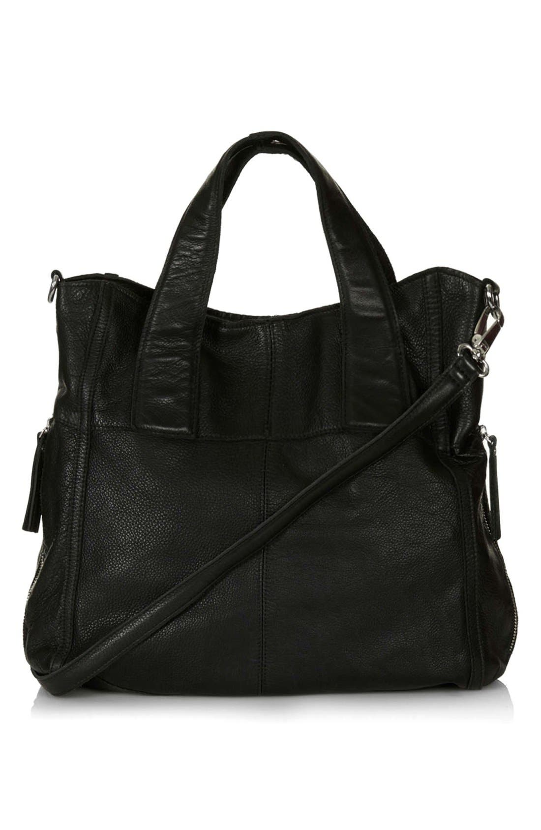 Alternate Image 1 Selected - Topshop 'Vintage Alba' Holdall Bag
