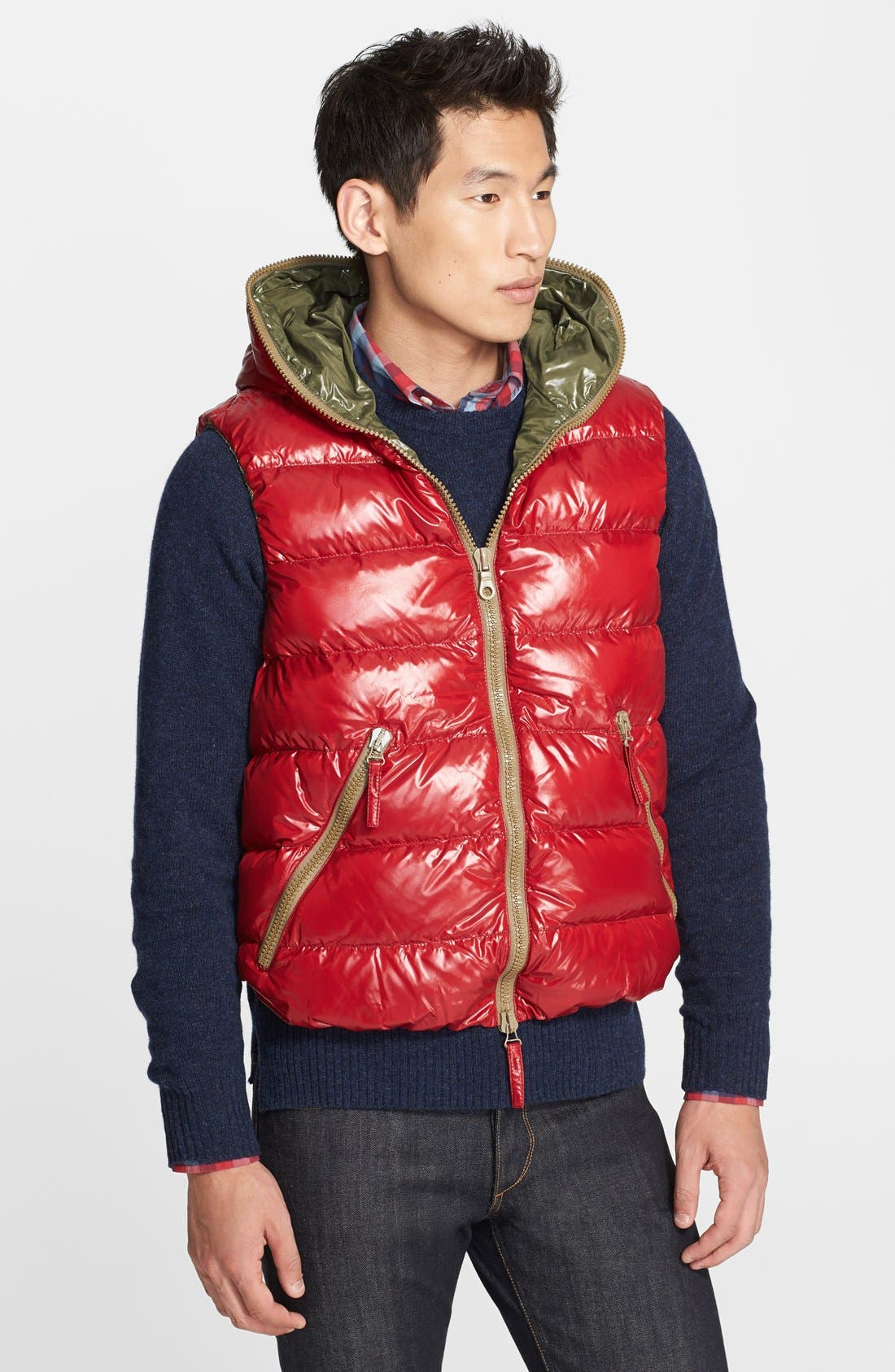 Alternate Image 1 Selected - Duvetica 'Aristeo' Shine Down Vest