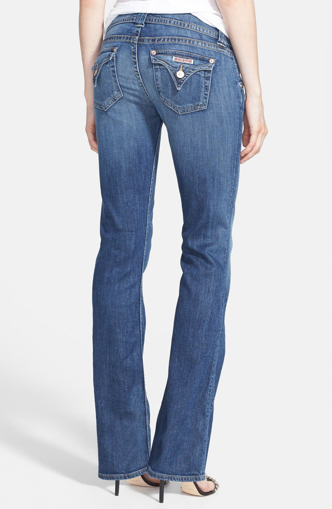 Alternate Image 2  - Hudson Jeans 'Signature' Bootcut Jeans (Hackney) (Petite)