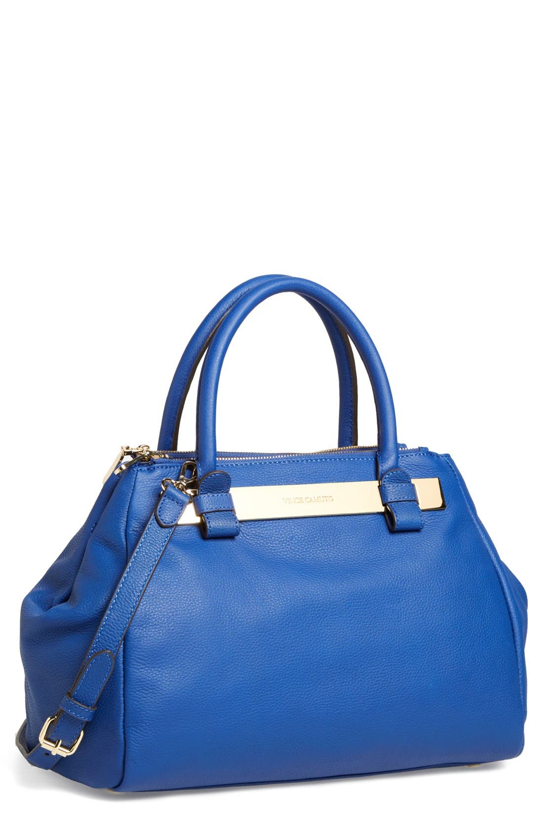 Alternate Image 1 Selected - Vince Camuto 'Jace' Leather Satchel
