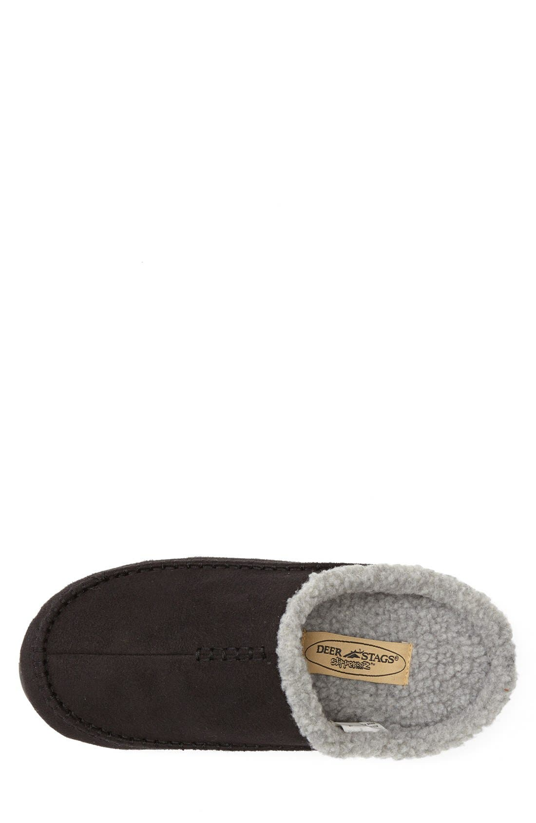 'Nordic' Slipper,                             Alternate thumbnail 3, color,                             Black