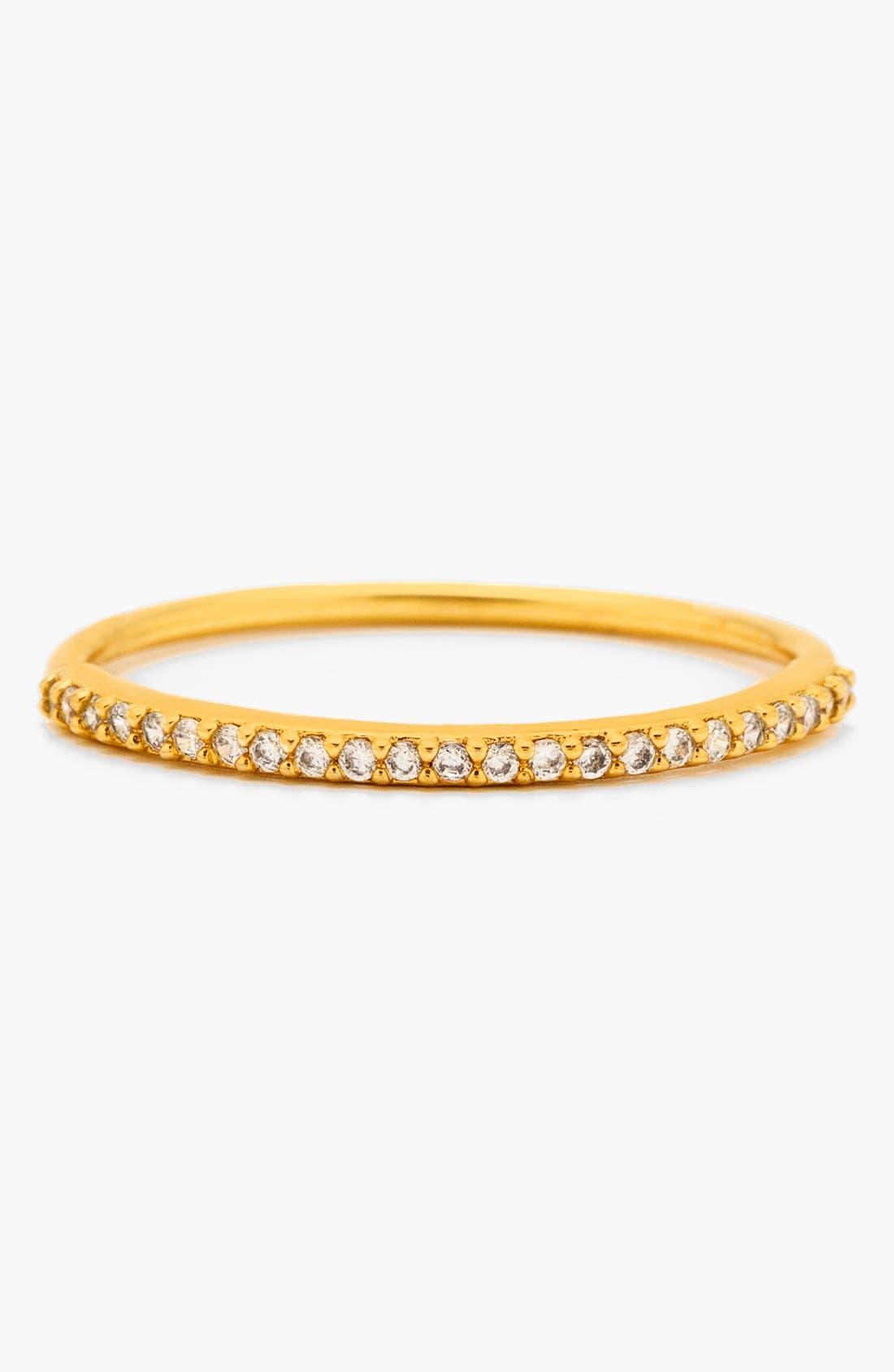 Alternate Image 1 Selected - gorjana 'Shimmer' Band Ring