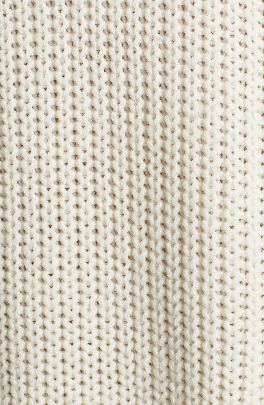 Alternate Image 3  - Helmut Lang Chunky Knit Turtleneck Sweater