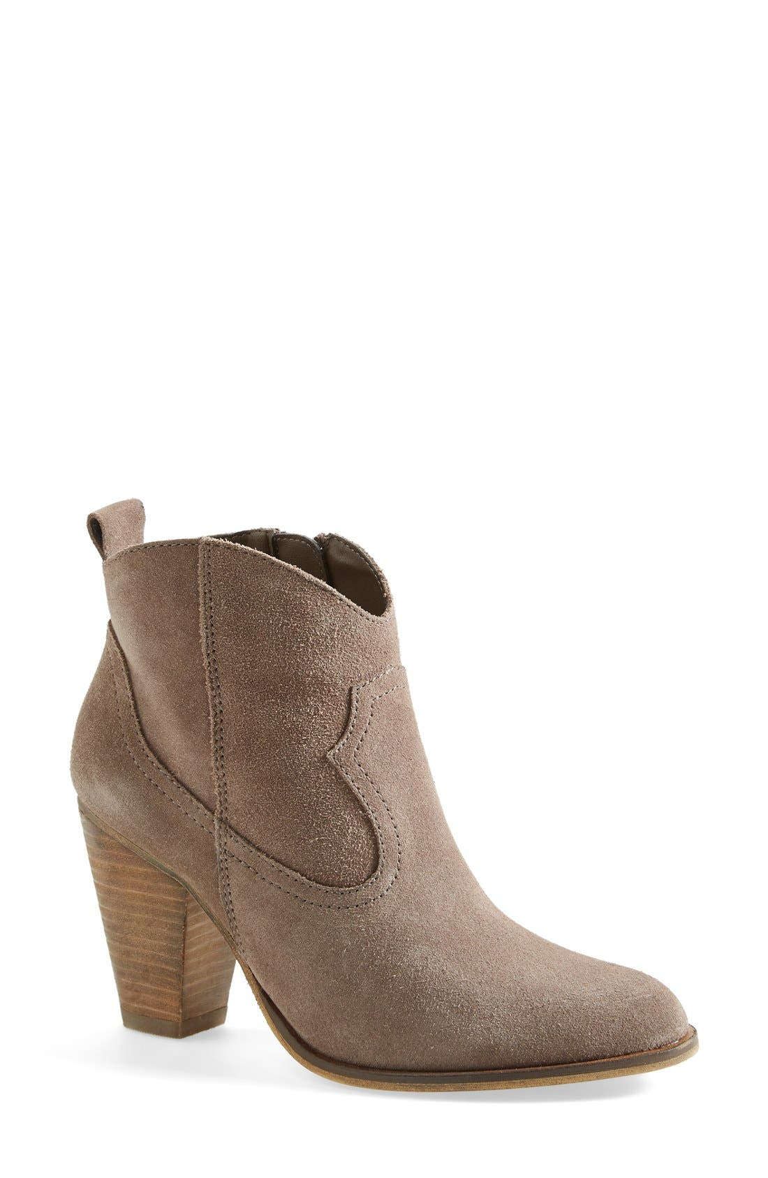 'Plover' Bootie,                             Main thumbnail 1, color,                             Taupe