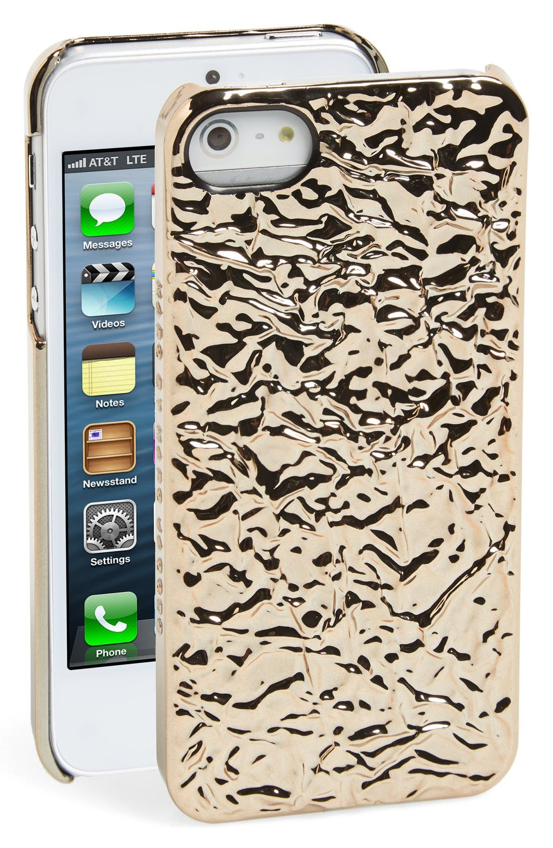 Alternate Image 1 Selected - MARC BY MARC JACOBS 'Foil' iPhone 5 & 5s Case