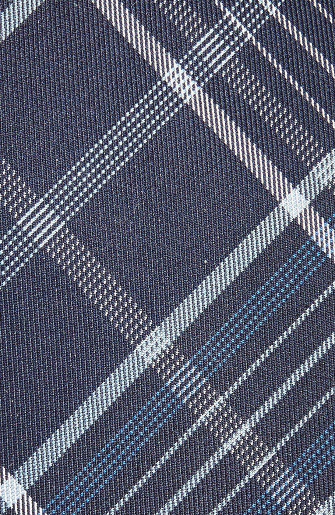Alternate Image 2  - Alexander McQueen Woven Silk & Cotton Tie