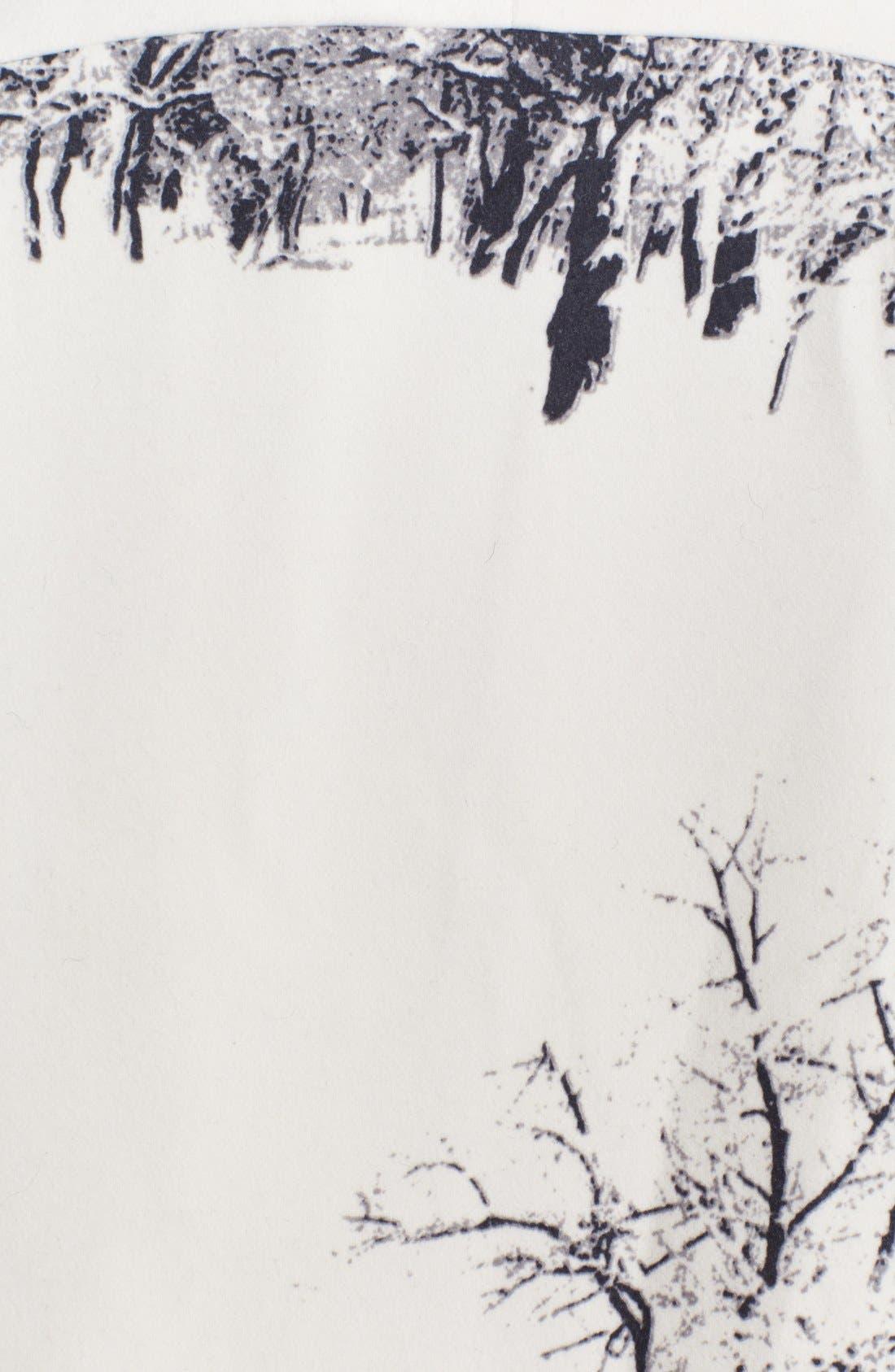 Alternate Image 3  - Helene Berman Tree Print Kimono Coat