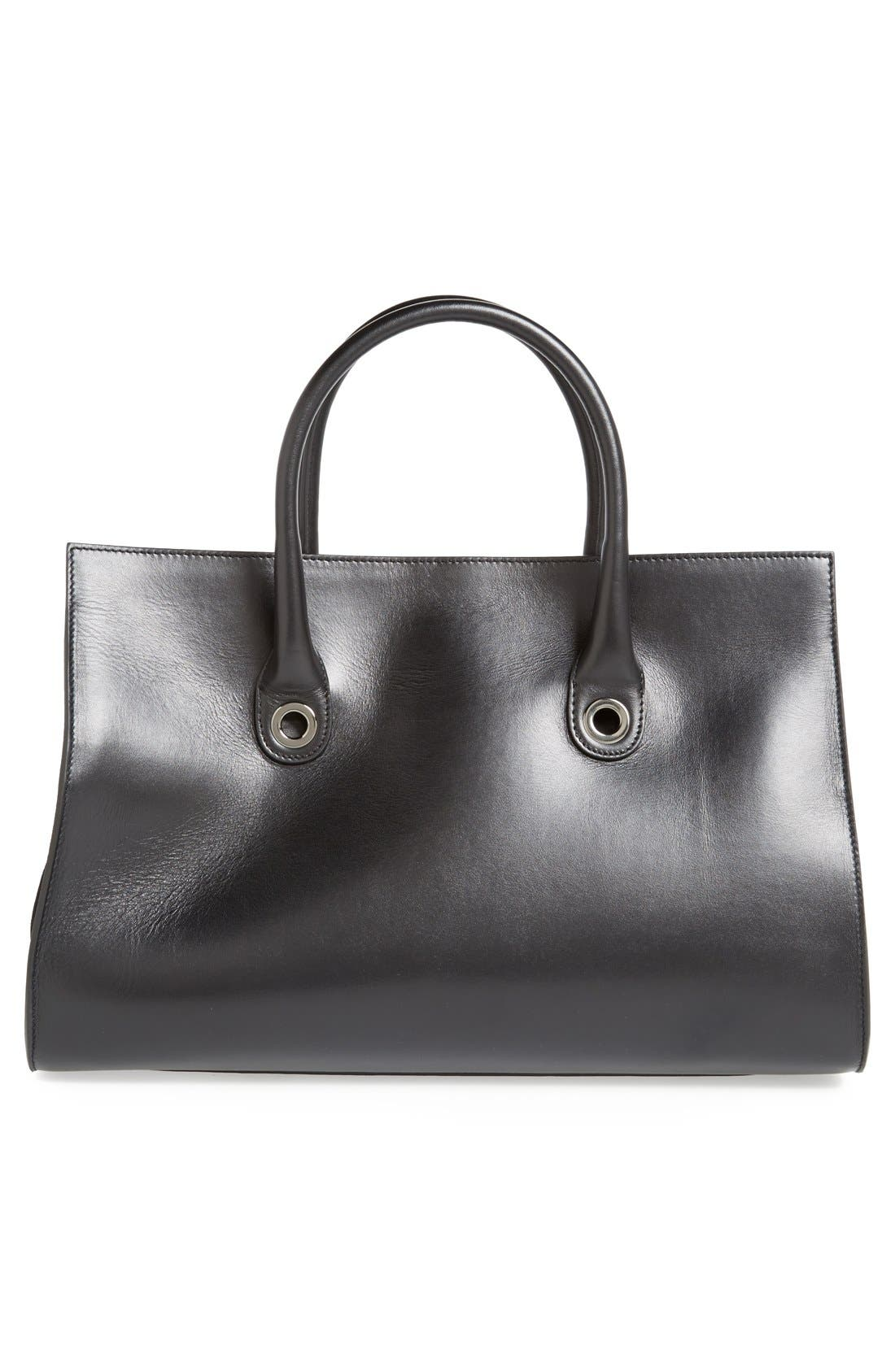 Alternate Image 4  - Jimmy Choo 'Riley' Leather Tote