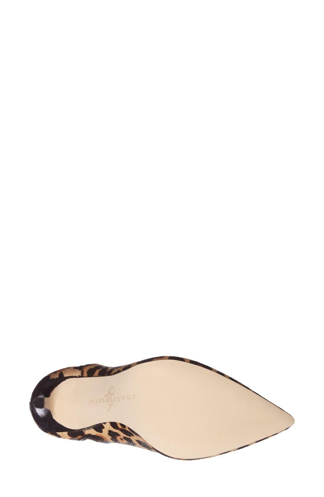 Alternate Image 4  - Ivanka Trump 'Sirraly' Pointy Toe Bootie (Women)