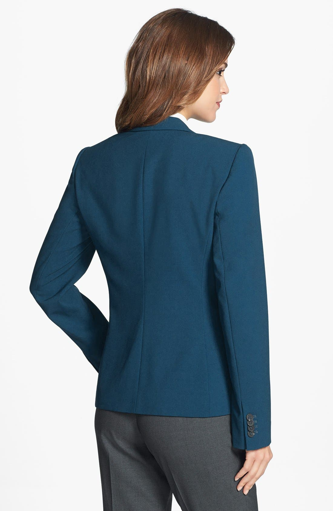 One-Button Blazer,                             Alternate thumbnail 2, color,                             Night Shade