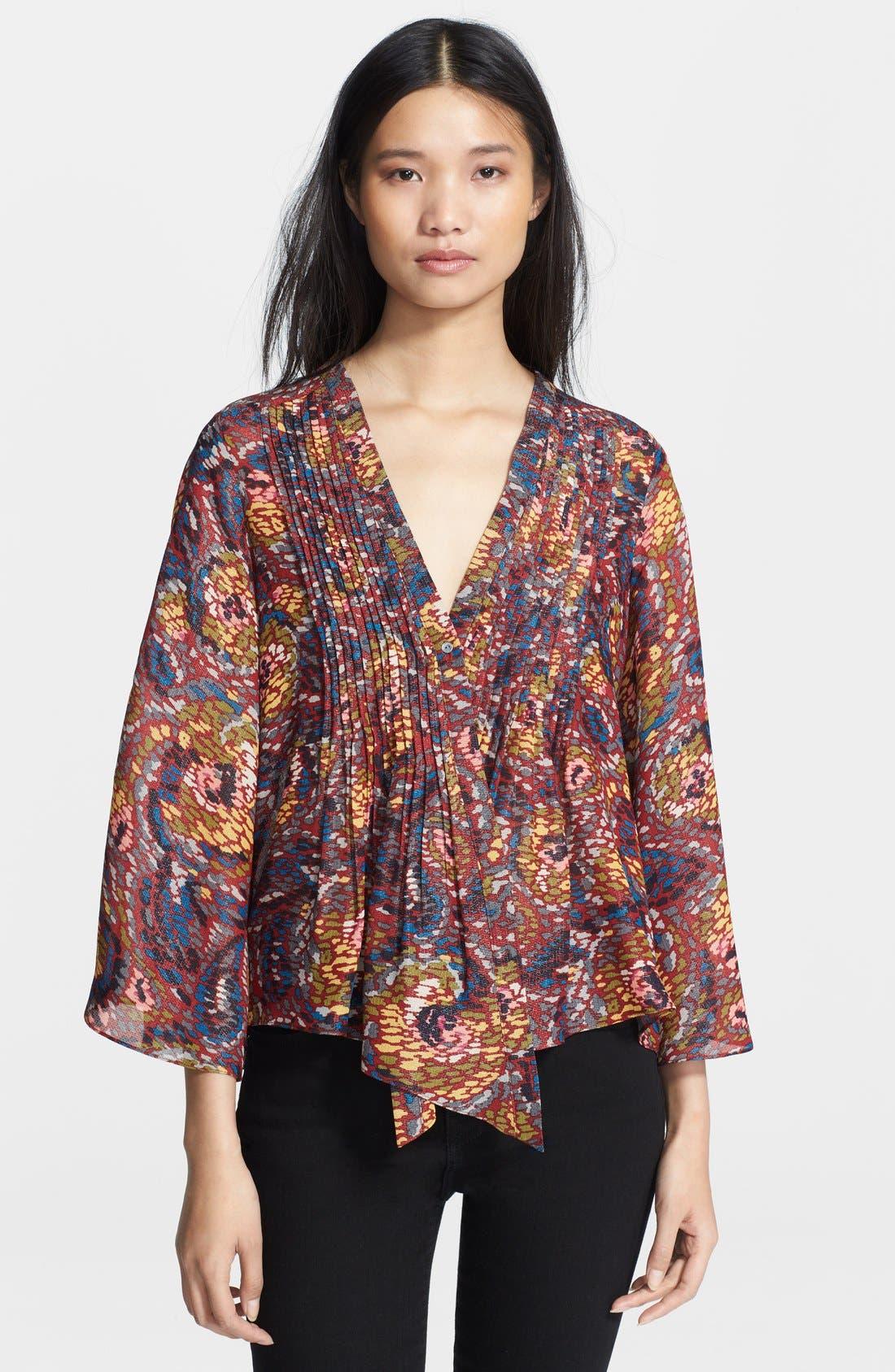 Alternate Image 1 Selected - Elizabeth and James 'Tokyo' Kimono Sleeve Top
