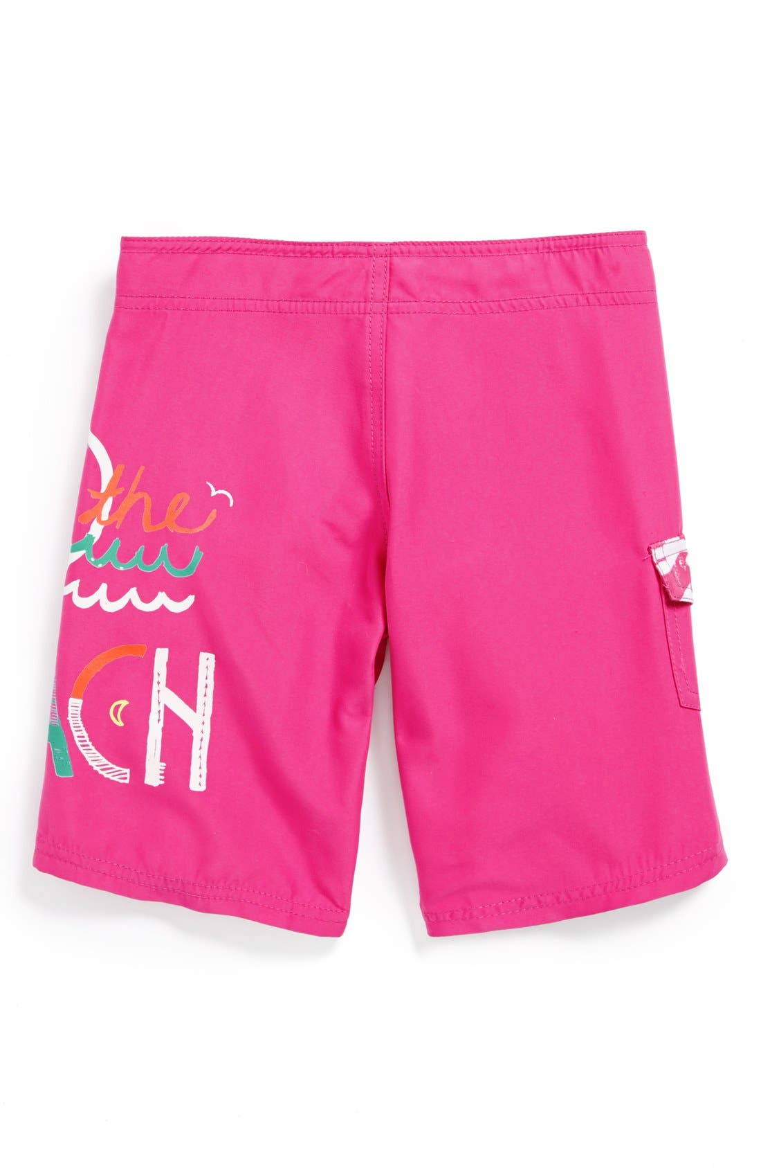 Alternate Image 2  - Billabong 'I Love the Beach' Board Shorts (Big Girls)