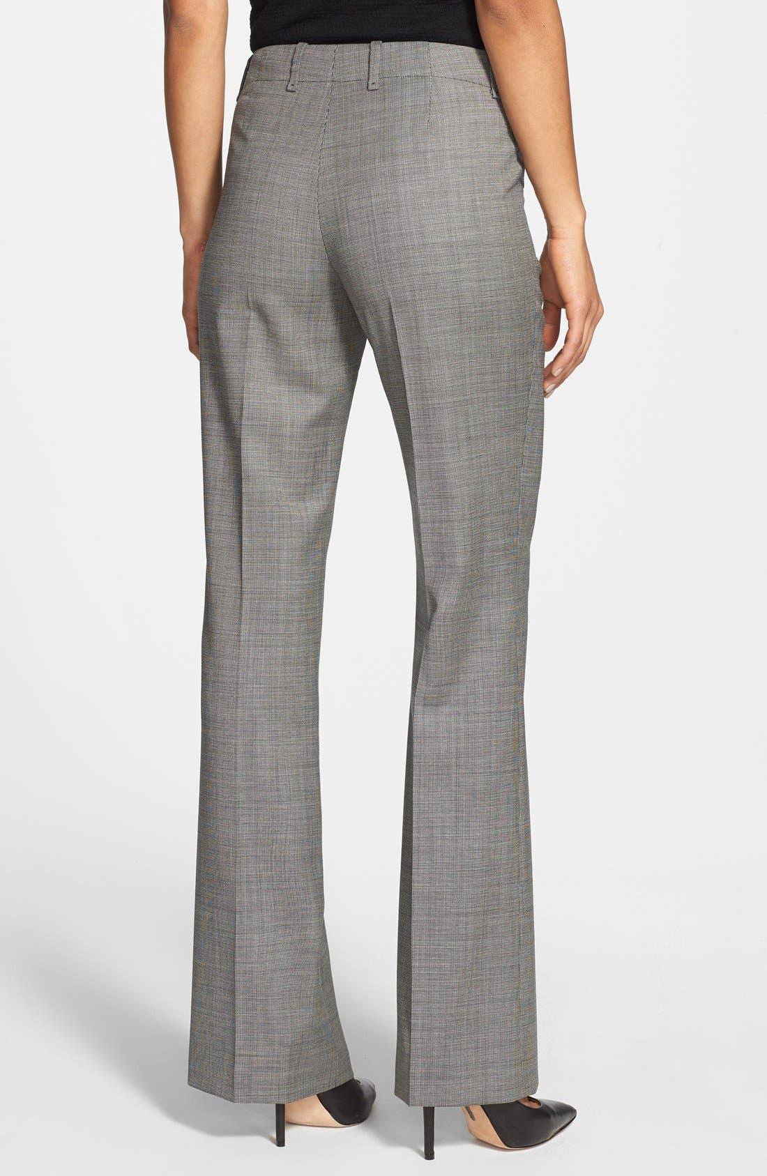 Alternate Image 2  - BOSS 'Tulia' Stretch Wool Trousers