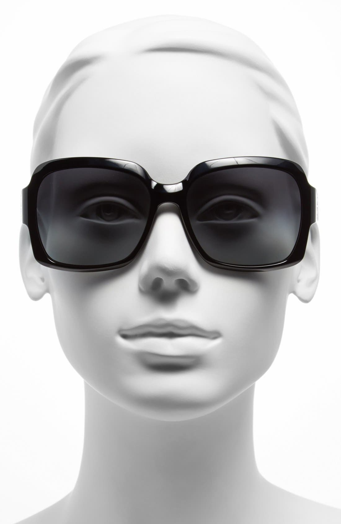Alternate Image 2  - Tory Burch 59mm Polarized Sunglasses