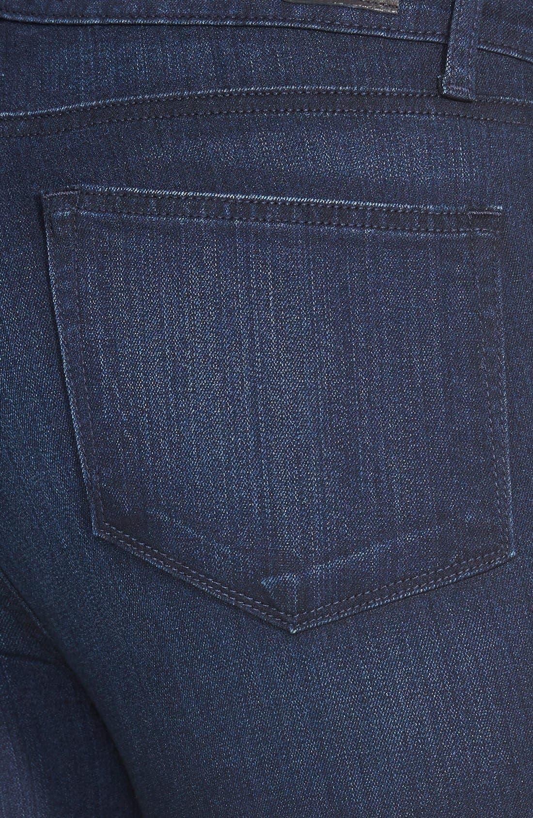 Denim 'Transcend - Hoxton' High Rise Ultra Skinny Jeans,                             Alternate thumbnail 3, color,                             Mae