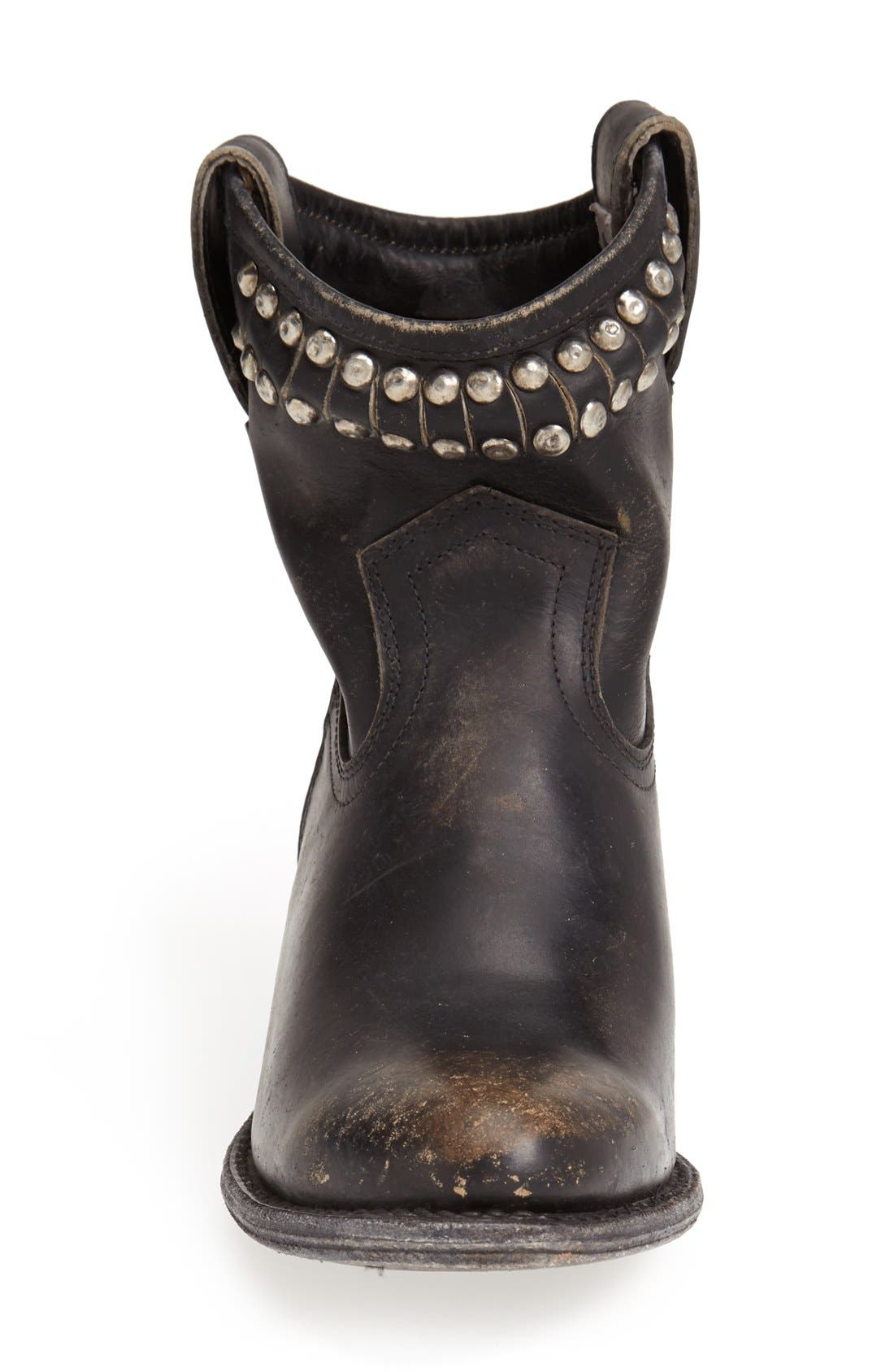 Alternate Image 3  - Frye 'Diana' Cut & Studded Leather Short Boot (Women)