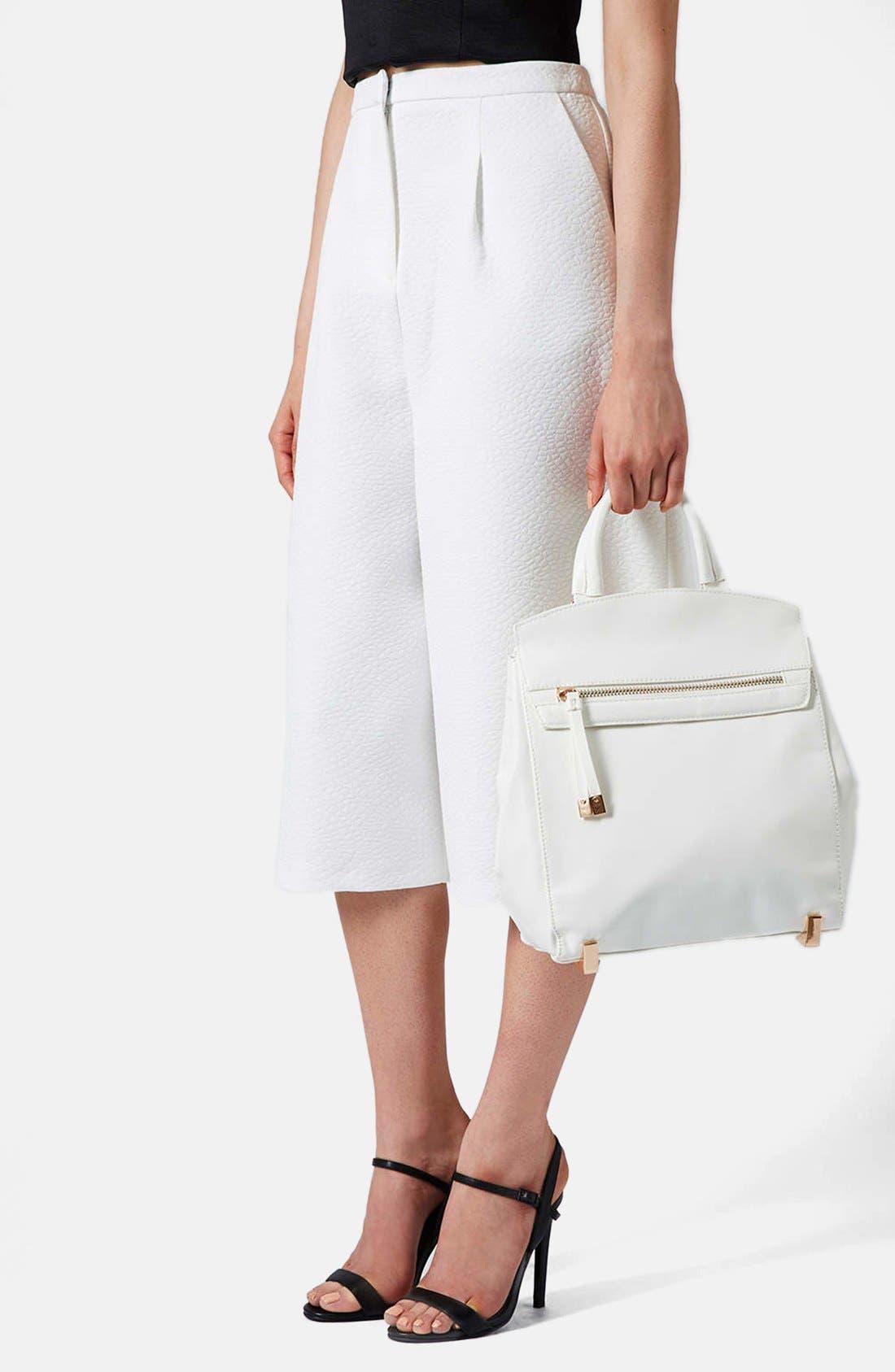 Alternate Image 5  - Topshop 'Smart' Backpack