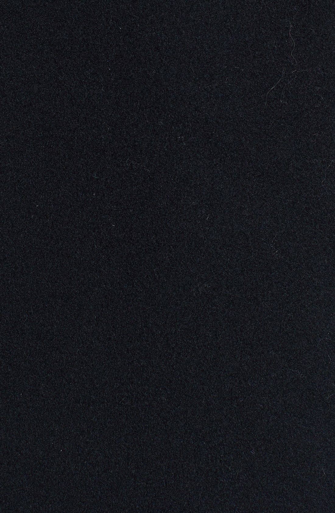 Alternate Image 3  - Cinzia Rocca DUE Stand Collar Side Slit Long Coat (Regular & Petite)