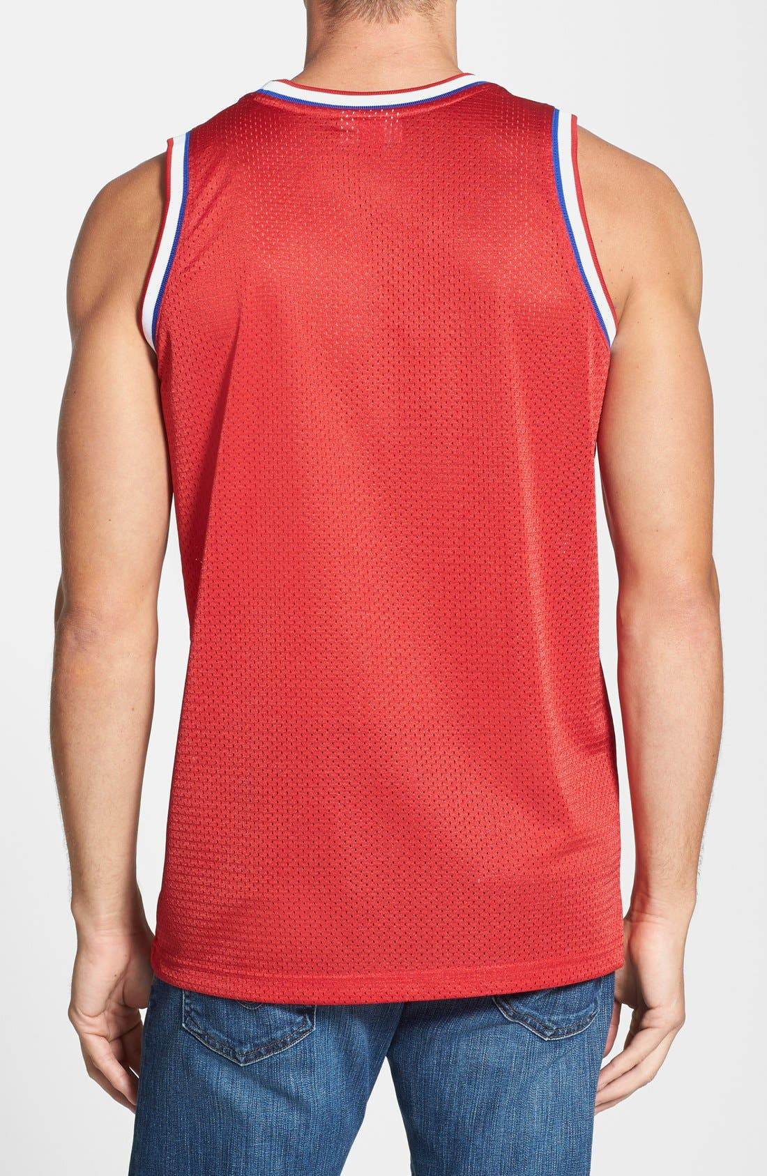 Alternate Image 2  - Mitchell & Ness 'Los Angeles Clippers' Mesh Tank Top Jersey