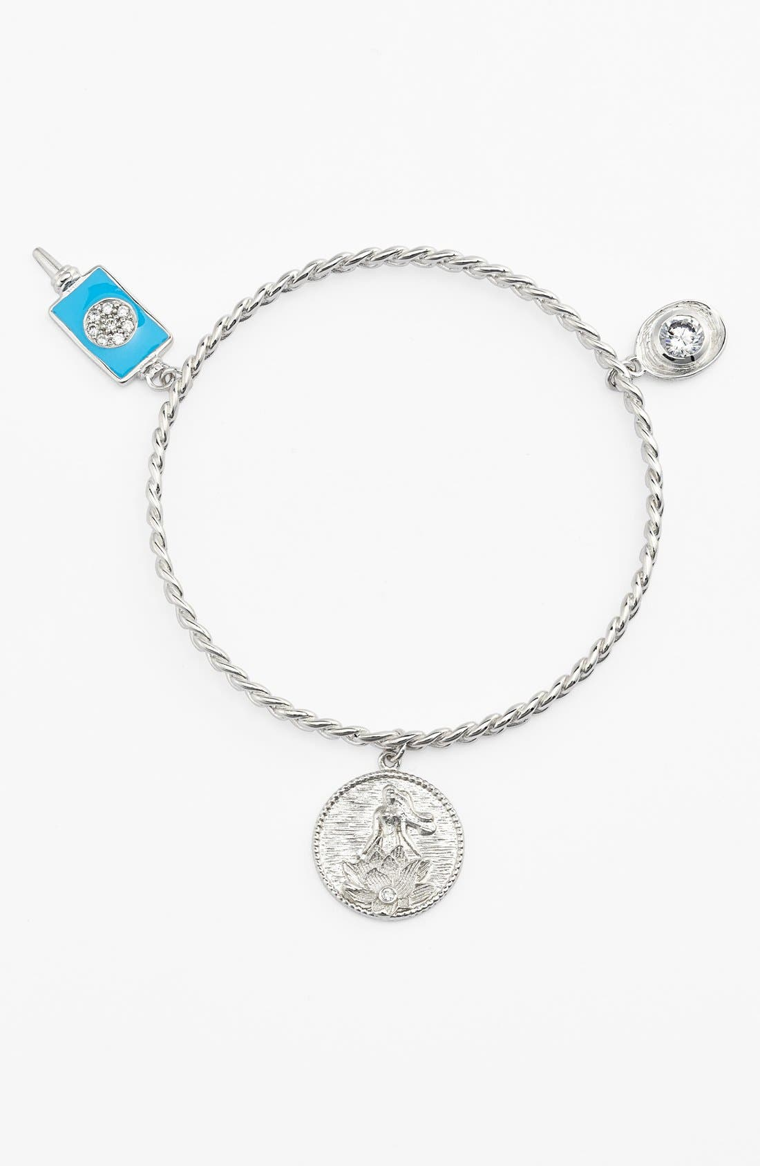 Main Image - Melinda Maria 'Goddess of Good Fortune' Charm Bangle