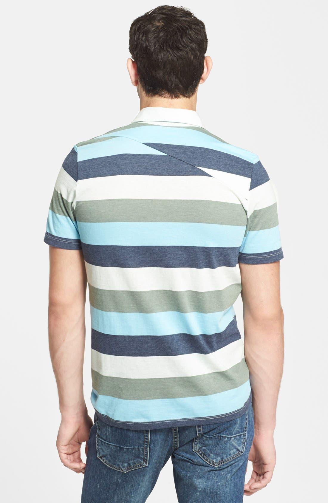 Alternate Image 2  - Volcom 'Paco' Stripe Jersey Polo