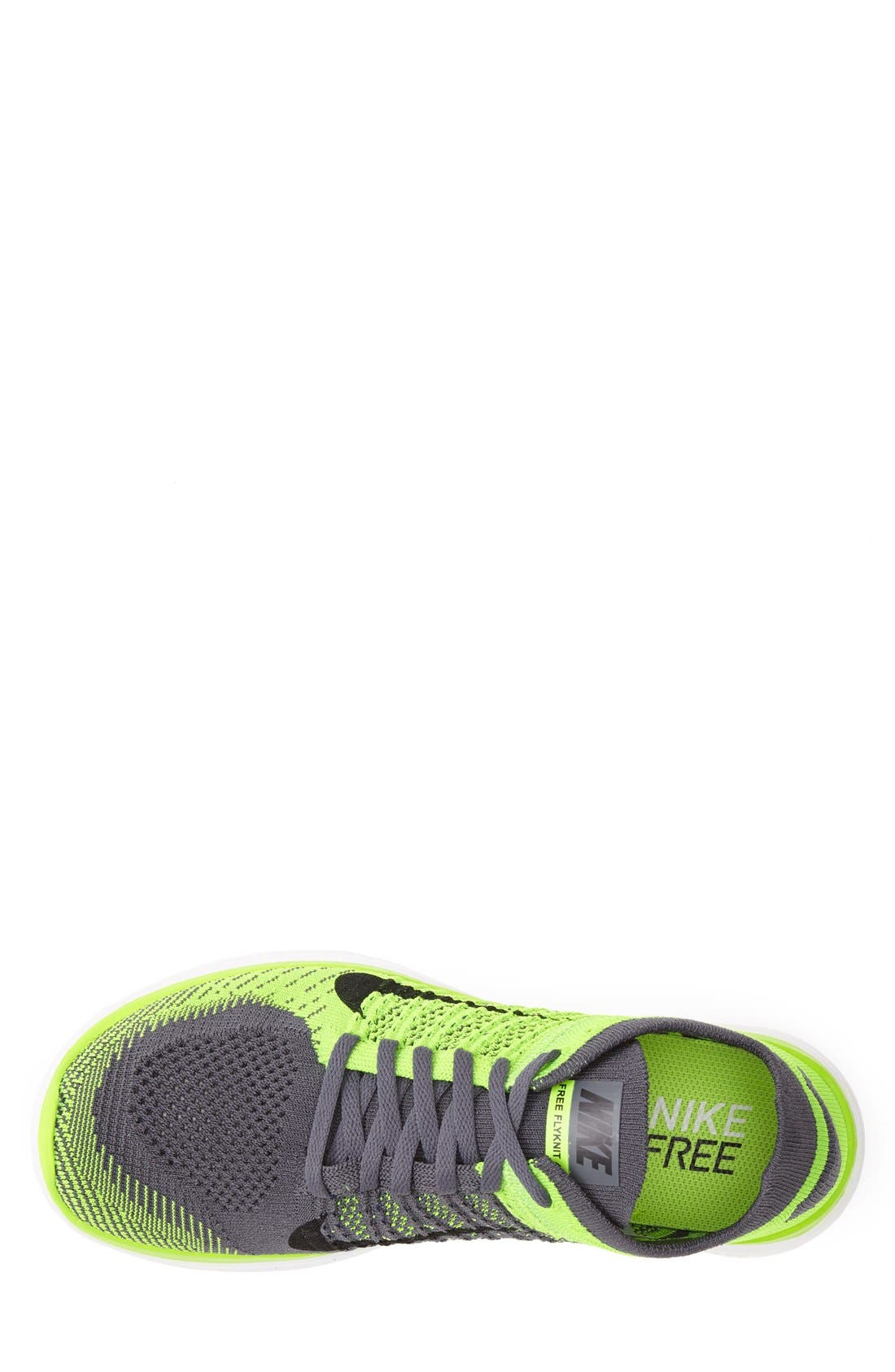 Alternate Image 3  - Nike 'Free 4.0 Flyknit' Running Shoe (Men)