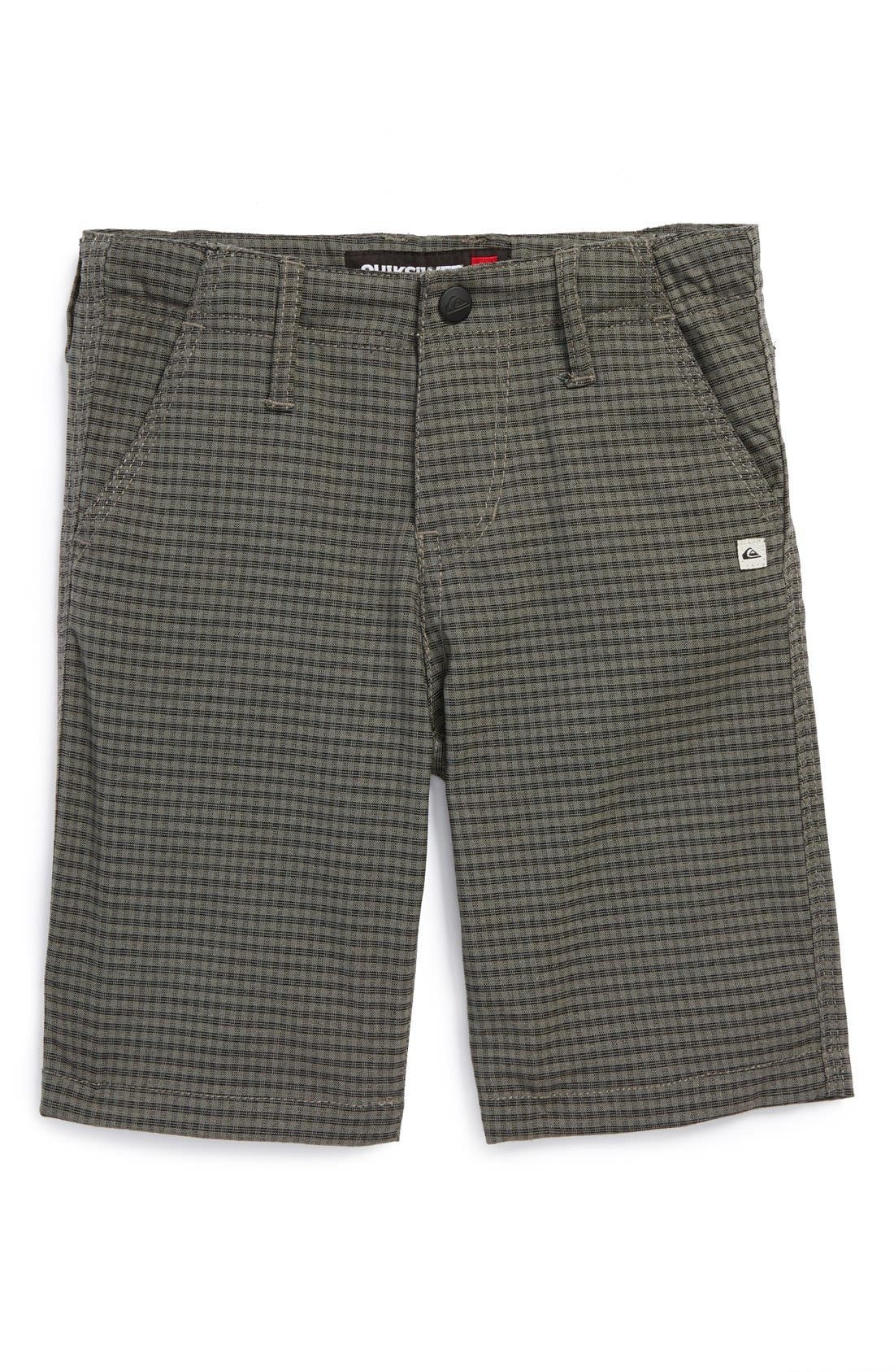 Alternate Image 1 Selected - Quiksilver 'Stamp It' Shorts (Toddler Boys)