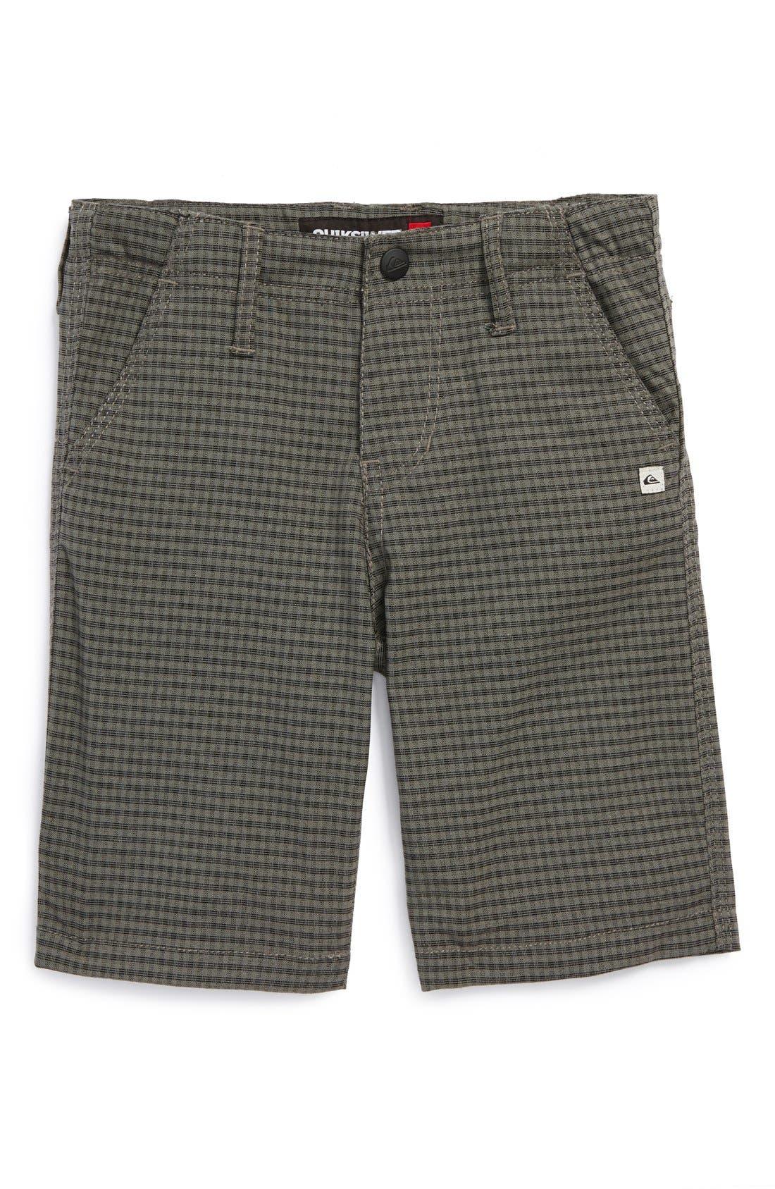 Main Image - Quiksilver 'Stamp It' Shorts (Toddler Boys)