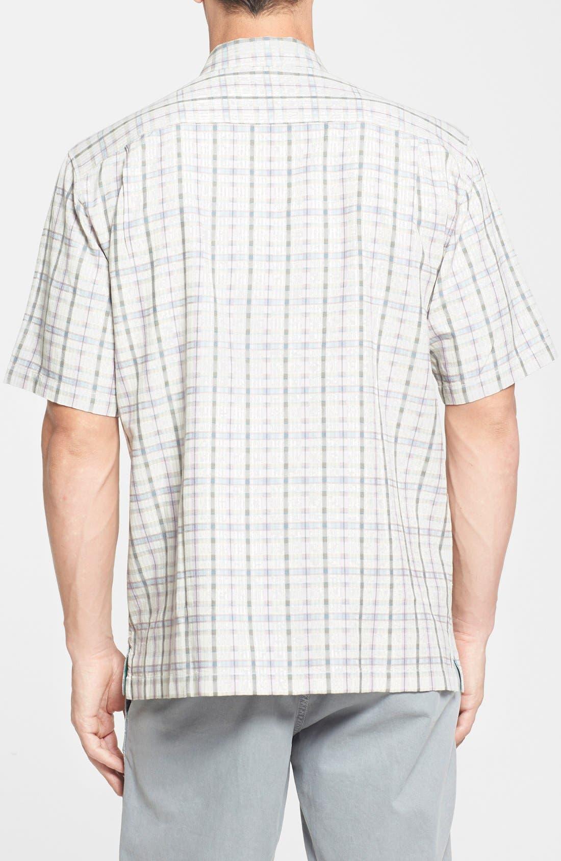 Alternate Image 2  - Tommy Bahama 'Jammin' Plaid' Original Fit Plaid Silk Campshirt