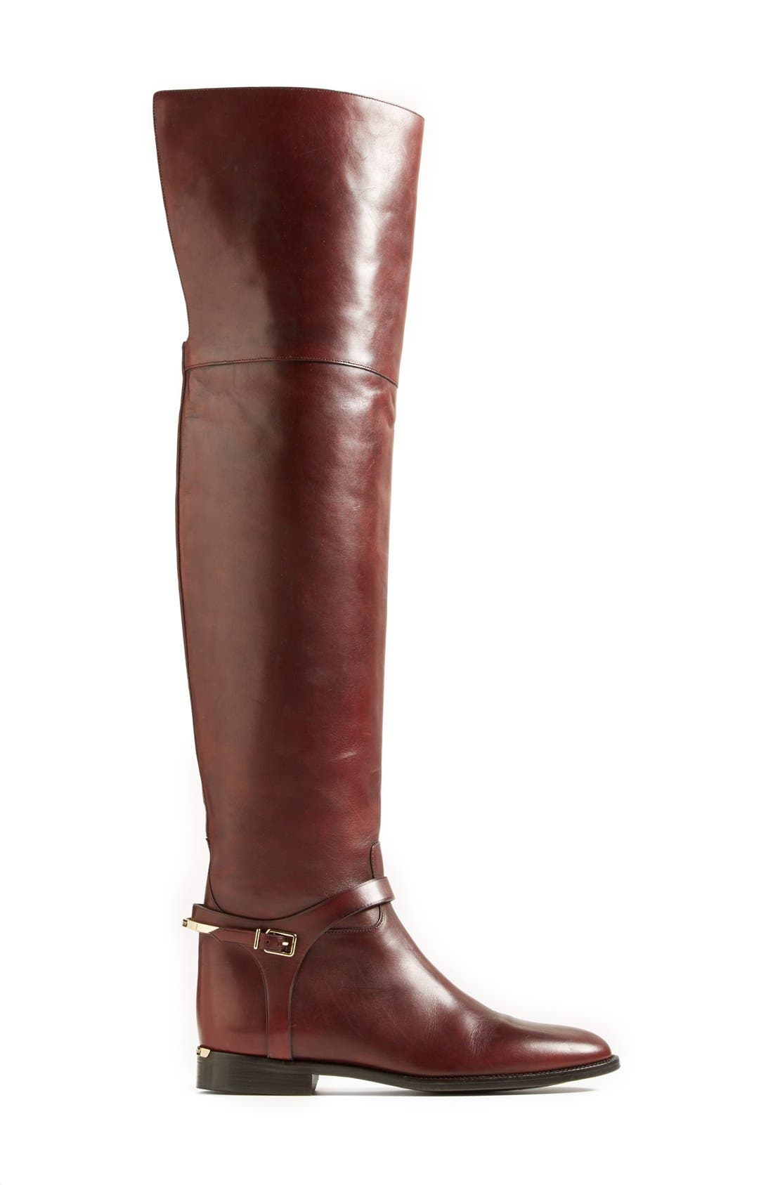 Alternate Image 4  - Burberry 'Carmack' Over the Knee Boot (Women)