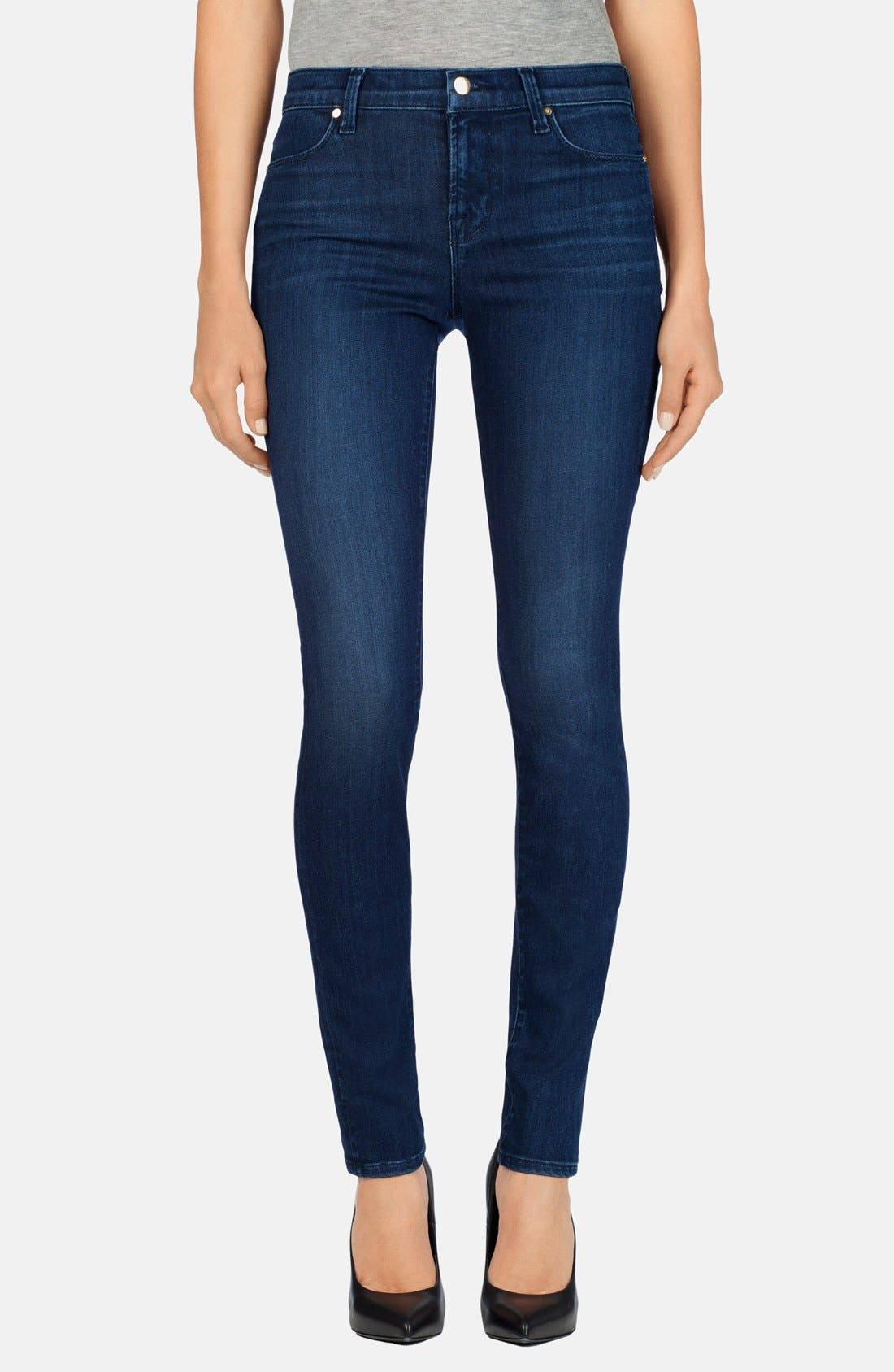 '620' Mid Rise Super Skinny Jeans,                             Main thumbnail 1, color,                             Fix