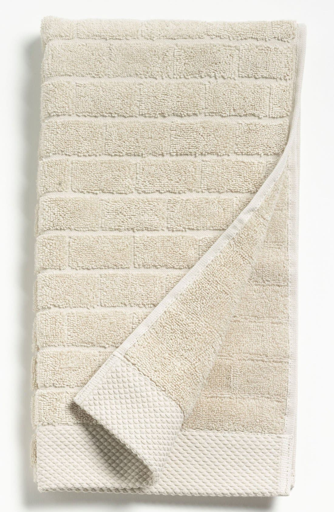 Alternate Image 1 Selected - Waterworks Studio 'Subway' Combed Cotton Hand Towel (Online Only)