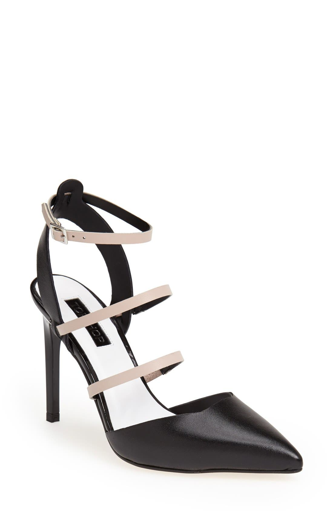 Main Image - Topshop 'Gauche' Skinny Heel Pump (Women)