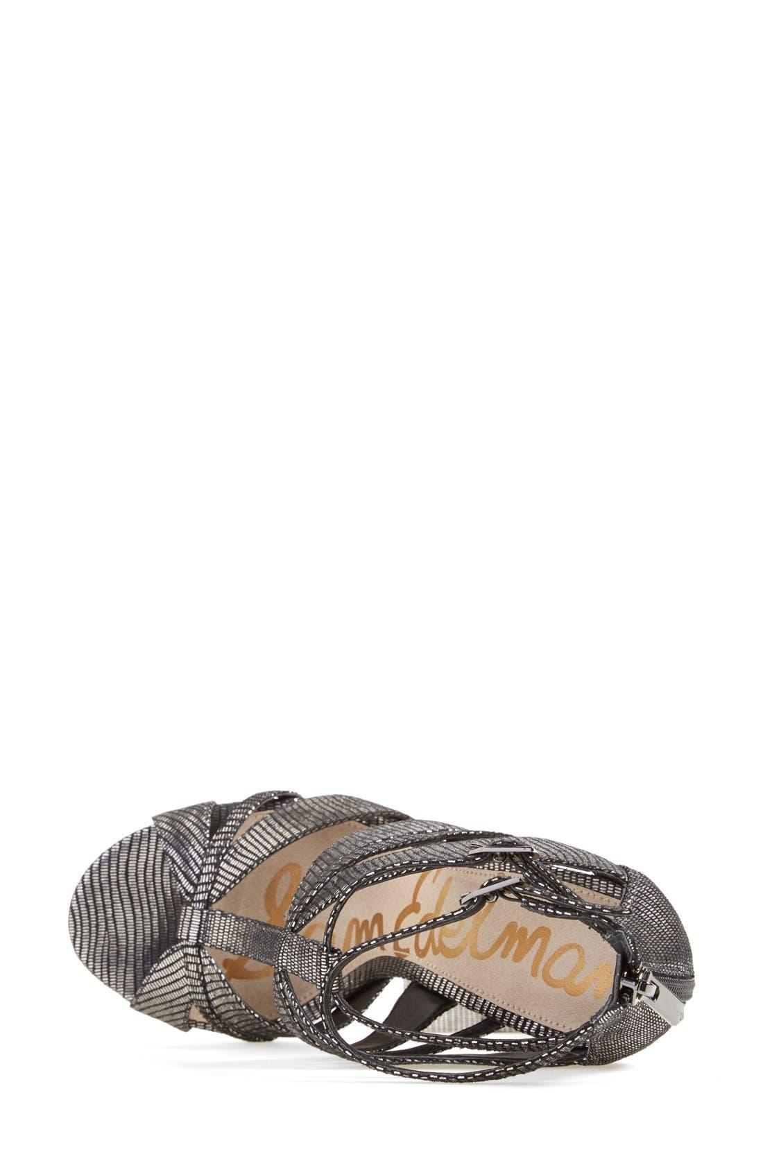 Alternate Image 3  - Sam Edelman 'Pepper' Lizard Embossed Sandal (Women)