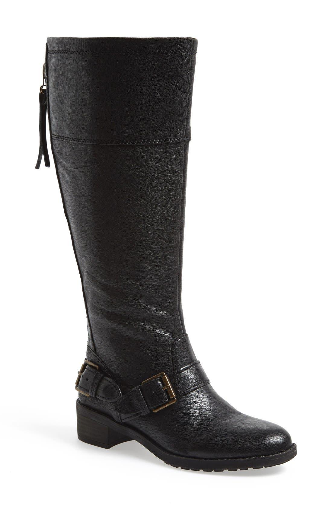 Main Image - Naturalizer 'Macnair' Riding Boot (Wide Calf) (Women)
