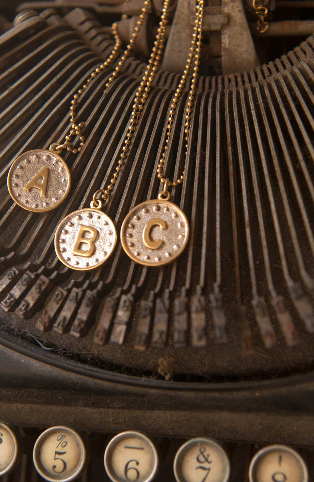 Alternate Image 3  - Blee Inara 'Initial' Write Your Own Story Handmade Necklace