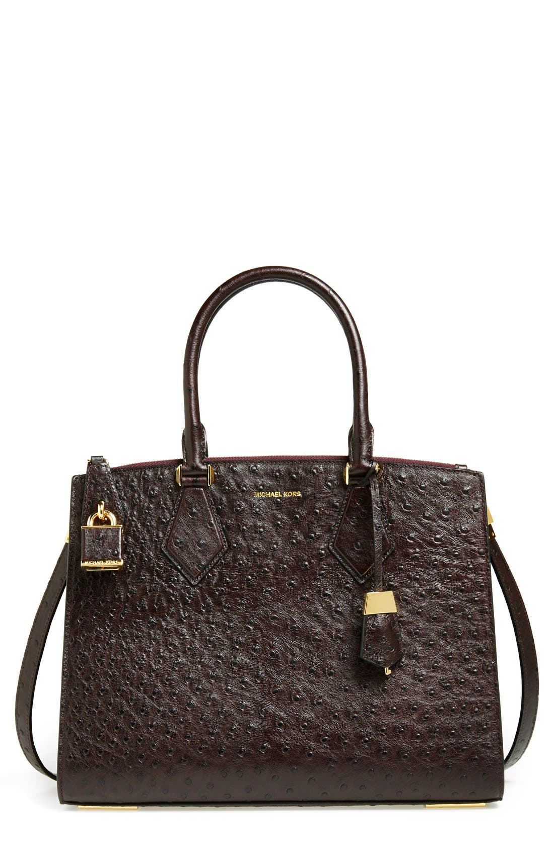 Main Image - Michael Kors 'Large Casey' Leather Satchel